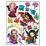 Jasmine Becket-Griffith Wall Decor: 18 Removable And Reusable Vinyl Wall Decals