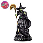 The Wizard Of Oz ???Wicked Witch Of The West??? Glow-In-The-Dark Sculpture