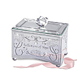 Breast Cancer Support Reflections Of Hope Mirrored Music Box