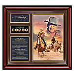 John Wayne Collectibles: Life And Legacy Commemorative Wall Decor