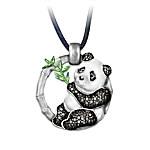 Panda Bear Pendant Necklace