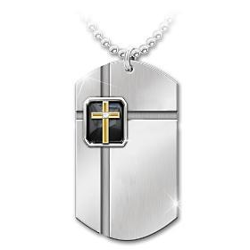 Strength In Faith Pendant Necklace