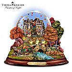 Thomas Kinkade Fall Harvest Water Globe