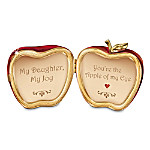 Apple Of My Eye Music Box: Gift For Daughter