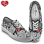 I Love Lucy Women's Canvas Shoes