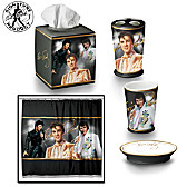 The Elvis Presley Bath Ensemble Accessories Set