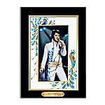 Elvis Presley Canvas Print Wall Decor Peacock Perfection