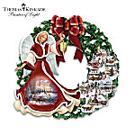 Thomas Kinkade Silent Night Wreath