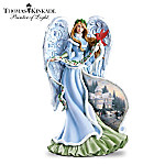 Thomas Kinkade Holly Angel Figurine