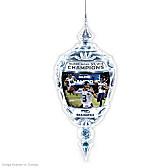 Seattle Seahawks Super Bowl XLVIII Crystal Ornament
