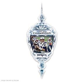 New England Patriots Super Bowl LI Champions Ornament