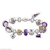 Geaux Tigers! #1 Fan Charm Bracelet