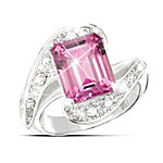 Passion Pink Topaz Ring