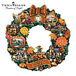 Thomas Kinkade Season Of Joy Wreath