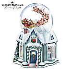 Thomas Kinkade The Night Before Christmas Snowglobe