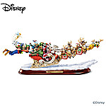 Disney Character Decorative Christmas Sleigh Sculpture