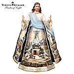 Thomas Kinkade Jesus Sculpture: Visions Of Faith