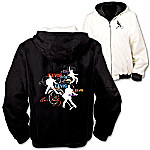 Elvis Presley Reversible Women's Jacket On The Flip Side