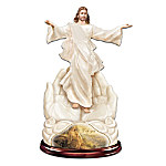 """Greg Olsen """"With You Always"""" Sculpted Jesus Figurine"""