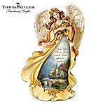 Thomas Kinkade Angel Of Grace Thanksgiving Figurine