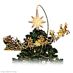 NFL-Licensed Pittsburgh Steelers Lighted Christmas Tree Topper: Steelers Holiday Pride