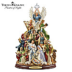 Tabletop Tree: Thomas Kinkade O Holy Night Tabletop Tree