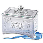 Reflections Of God's Love Inspirational Fully Mirrored Music Box