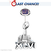 Giants Super Bowl XLVI Championship Ornament