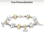 Head Of The Class: Personalized Charm Bracelet For Graduates