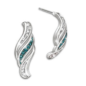 Cascade Of Beauty Diamond Earrings