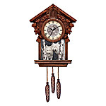 Timeless Encounter Cuckoo Clock