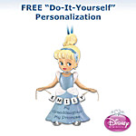 "Disney ""My Princess Of A Granddaughter"" Personalized Christmas Ornament"