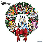 The Wonderful World Of Disney Character Christmas Wreath
