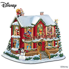 Disney Twas The Night Before Christmas Sculpture