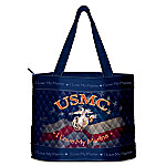 USMC Women's Tote Bag: I Love My Marine