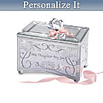 Personalized Mirrored Music Box: My Daughter, My Joy