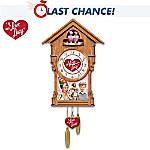 I Love Lucy Cuckoo Clock