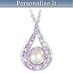 Daughter Birthstone Pendant Necklace: Daughter, You Are A Special Treasure