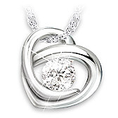 Precious As A Diamond  Granddaughter Pendant Necklace