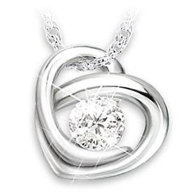 Precious As A Diamond  Granddaughter Pendant Necklace