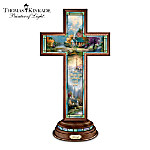 Thomas Kinkade Illuminated Faith Cross