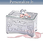 My Granddaughter, My Joy Personalized Music Box