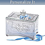 In Loving Remembrance Personalized Bereavement Music Box