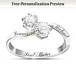 Personalized Diamond Ring: Soul Mates