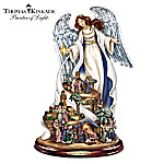 Sculpture: Thomas Kinkade Unto Us A Child Is Born Sculpture