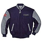 USMC Men's Jacket: Proud To Be A Marine