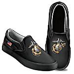 Semper Fi Men's Slip On Shoes