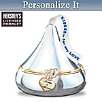 Personalized Romantic HERSHEY'S KISSES Music Box: KISSES For My Love