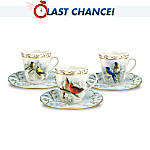 Feathered Friends Teacup & Saucer Set
