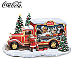 Sculpture: COCA-COLA Bringing Holiday Cheer Sculpture